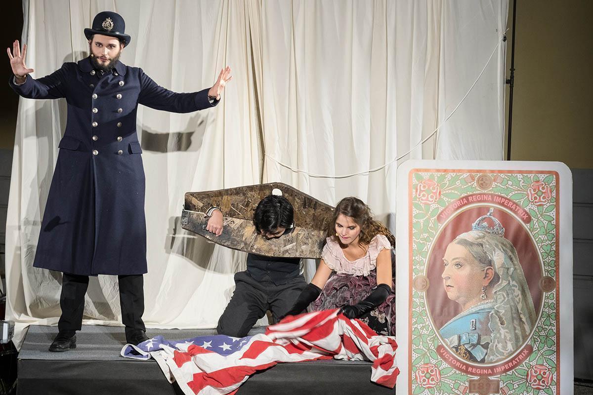 ClassicAperta: Houdini the great - Street Opera Musica di Andy Pape - Libretto di Rerik Clausen Società Umanitaria - via solari 40 - Milano