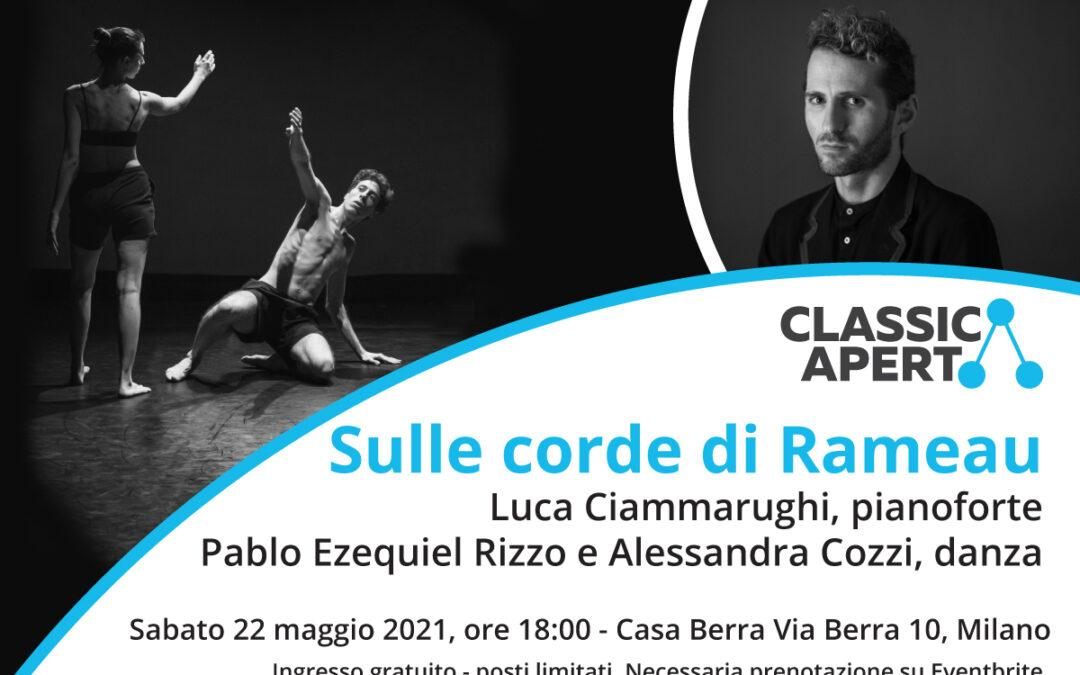 Luca Ciammarughi: Sulle corde di Rameau