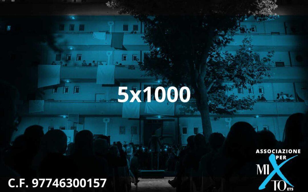 5×1000 all'Associazione per MITO ETS