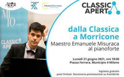 Emanuele Misuraca: dalla Classica a Morricone