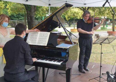 ClassicAperta: Il lato romantico: Nicolò De Maria al pianoforte - Christian Joseph Saccon al violino
