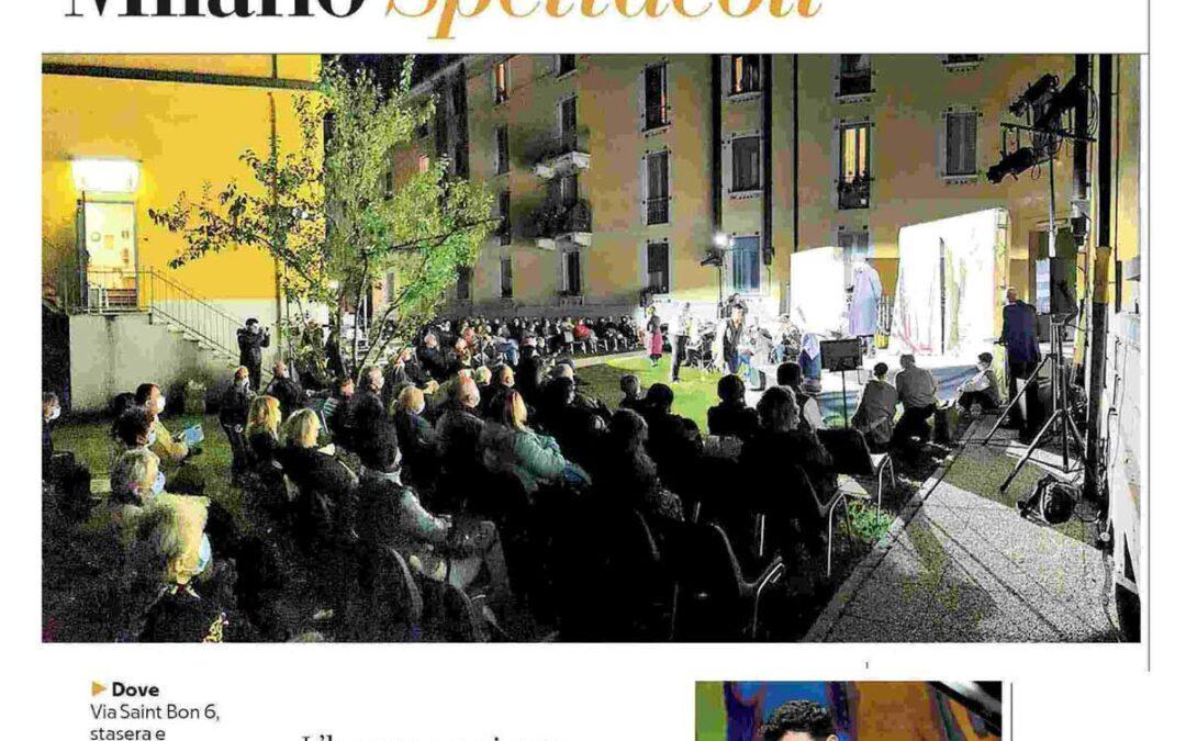 La Repubblica – L'opera in cortile rivitalizza il quartiere