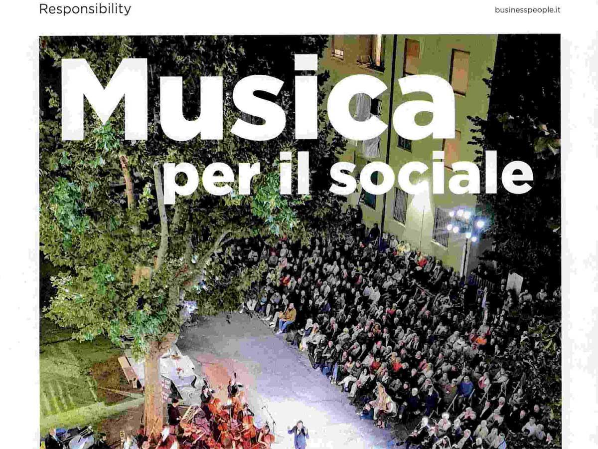 BusinessPeople: musica per il sociale