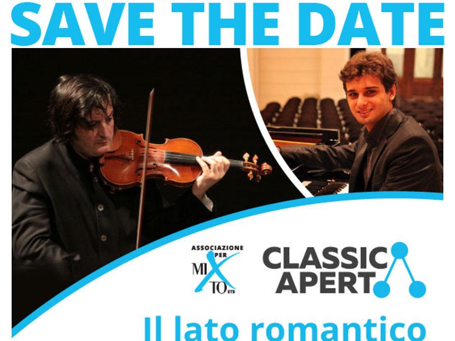 2021-05-27 Invito ClassicAperta: Nicolò De Maria e Christian Joseph Saccon – Il lato romantico