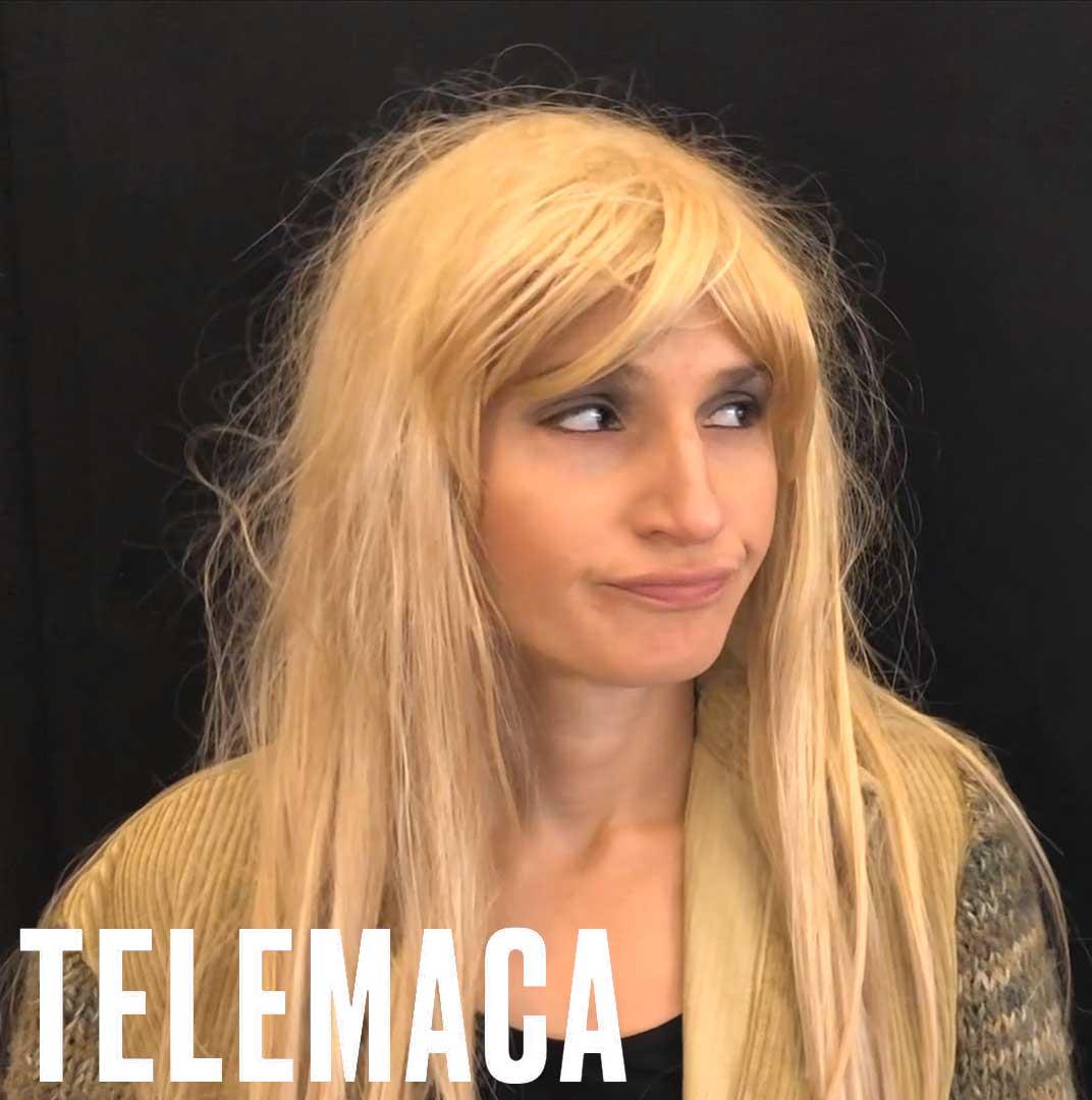 ClassicAperta presenta Quella volta che Ulisse... Selene Framarin: Telemaca Dal trailer dello spettacolo di Alfonso Alberti e Selene Framarin